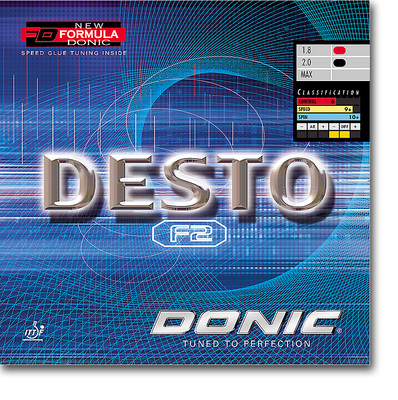 "DONIC - rubber ""Desto F2"""