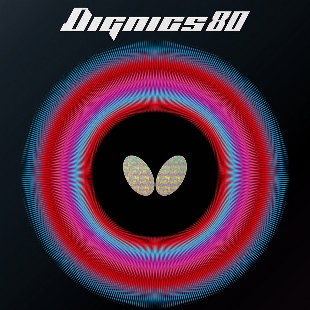 BUTTEFLY - rubber DIGNICS 80