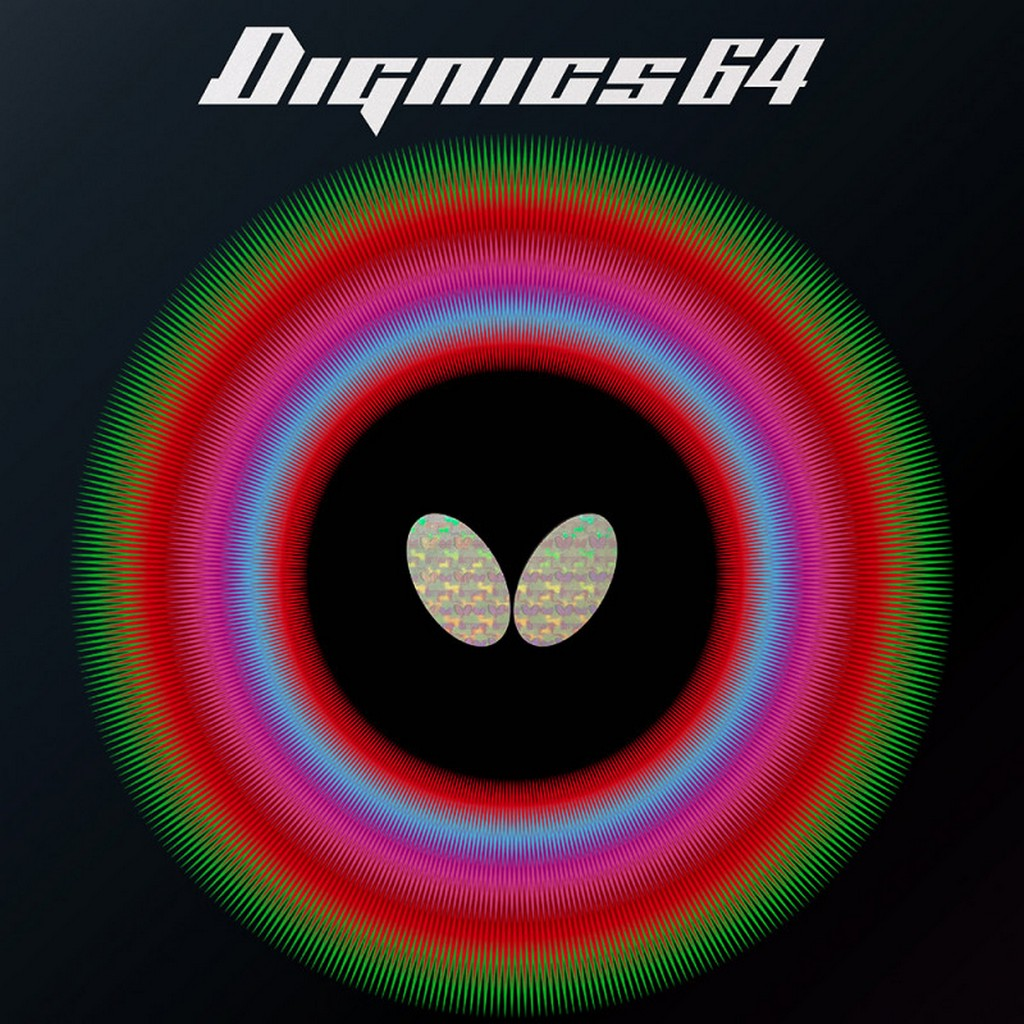 BUTTERFLY - rubber DIGNICS 64