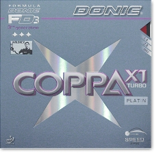 Donic  Coppa X1 Turbo (Platin)