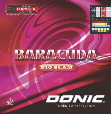 Donic rubber Baracuda Big Slam