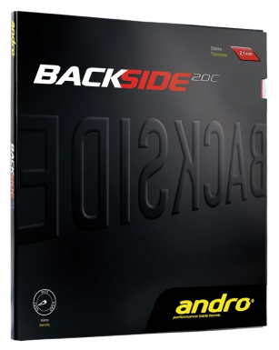 Andro rubber Backside 2.0C