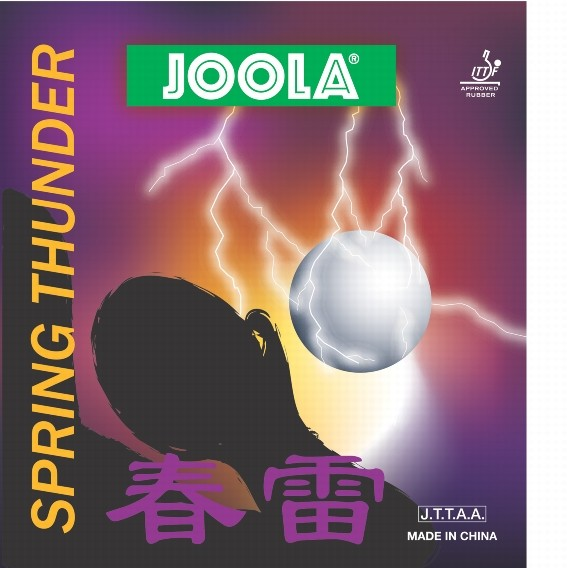 JOOLA - rubbers Spring Thunder