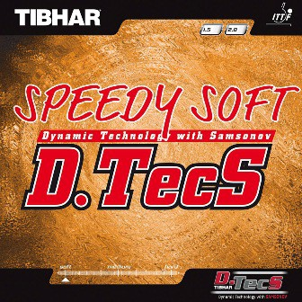 TIBHAR - rubber Speedy Soft D.Tecs