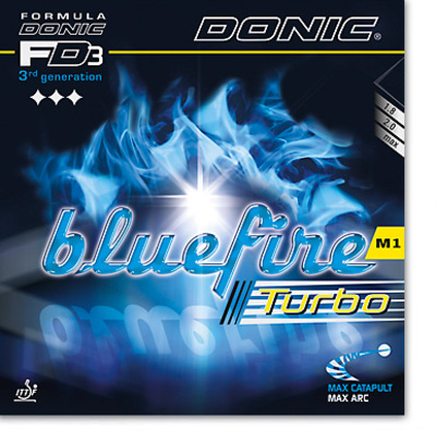 DONIC - rubber Bluefire M1 Turbo