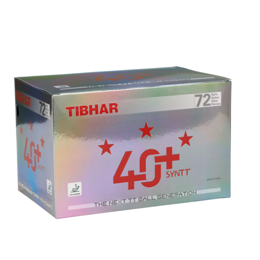 TIBHAR - 40+SYN  POLY BALL 72pcs***