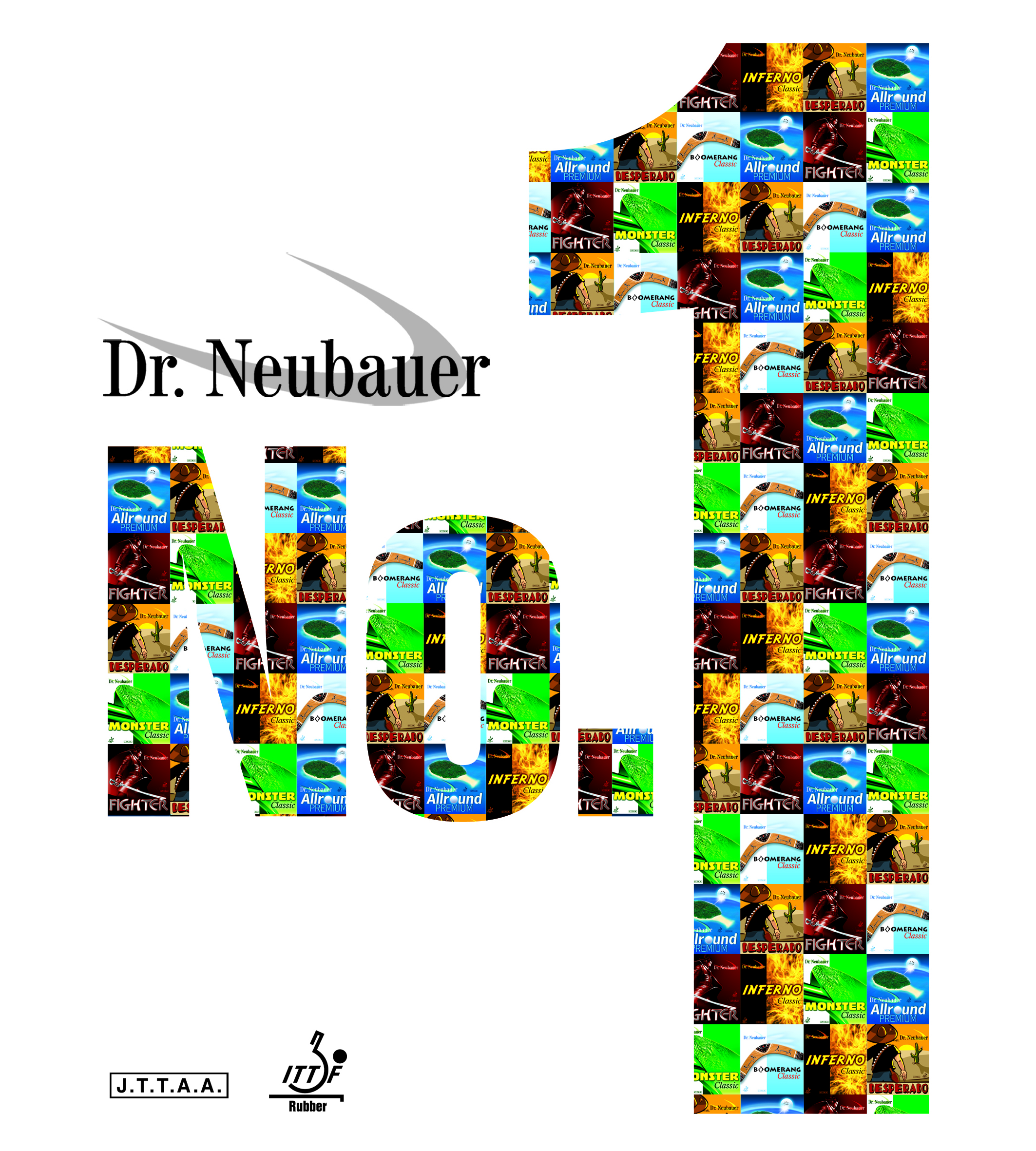 Dr.NEUBAUER -rubber NUMBER 1