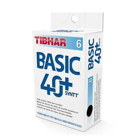 TIBHAR - trainer balls BASIC 40+  6pcs.