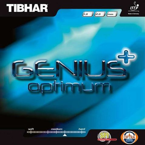 Tibhar rubber Genius+Optimum