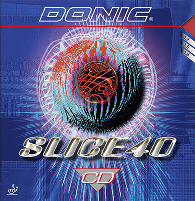 DONIC - rubber SLICE 40 CD