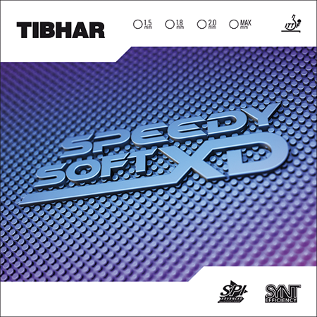 TIBHAR - rubber SPEEDY SOFT XD