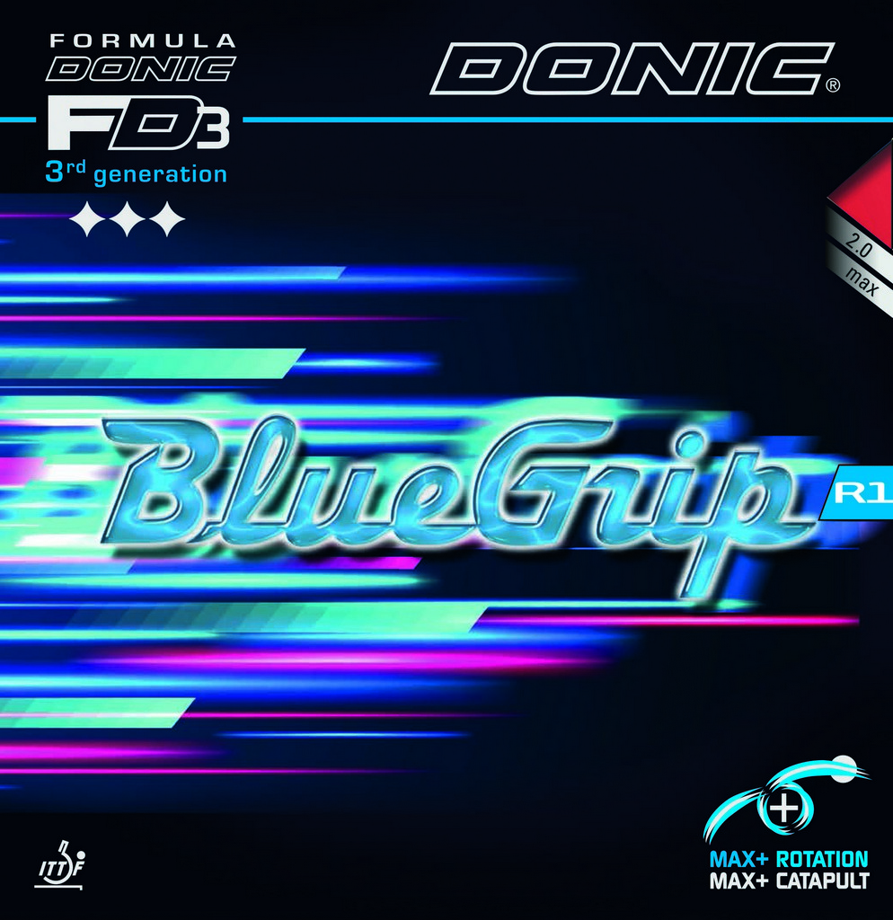 DONIC - rubber BLUEGRIP R1