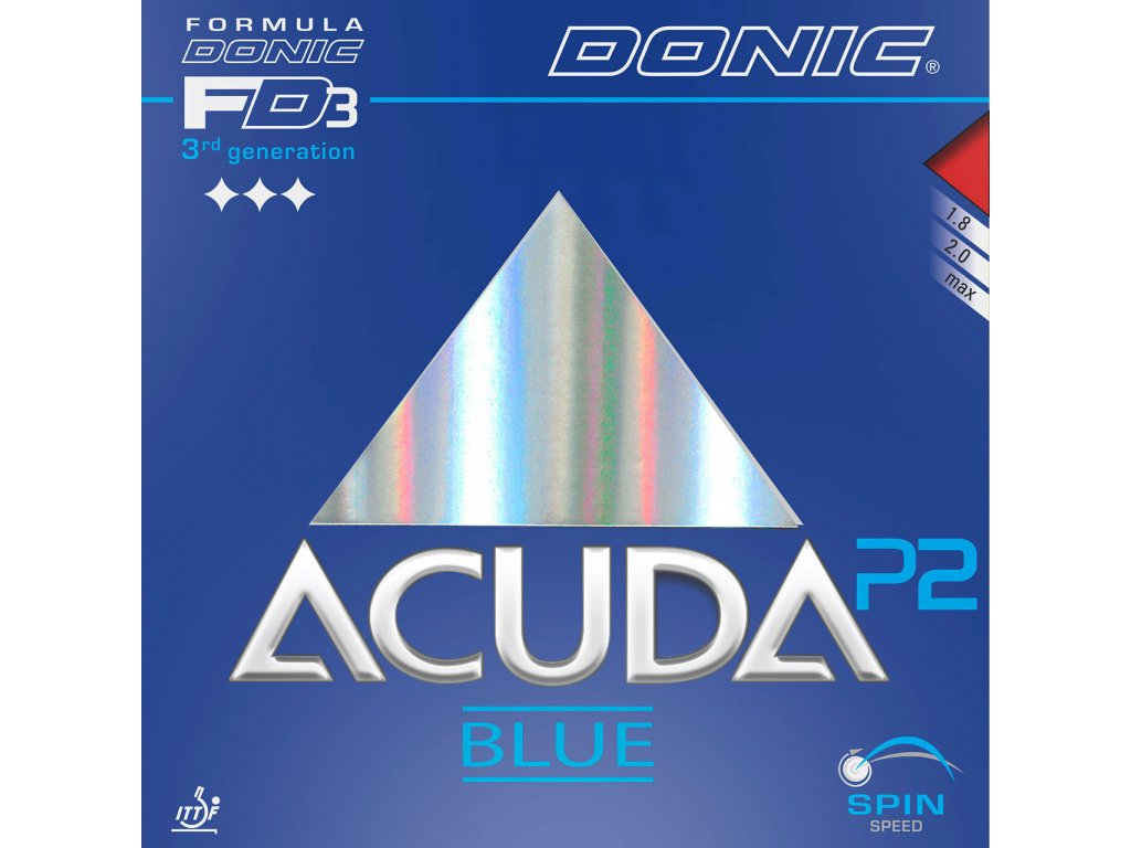 Donic - rubber Acuda blue P2