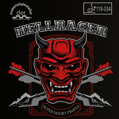 DER MATERIALSPEZIALIST- rubber HELLRACER