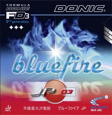 Donic rubber Bluefire JP 03