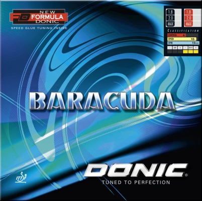 Donic rubber Baracuda