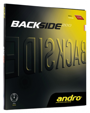 Andro rubber Backside 2.0D