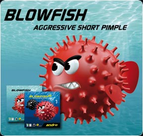 Andro rubber BLOWFISH