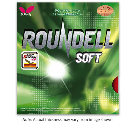 Butterfly rubber Roundell Soft